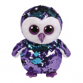 Փափուկ խաղալիք 36439 MOONLIGHT - SEQUIN OWL MED