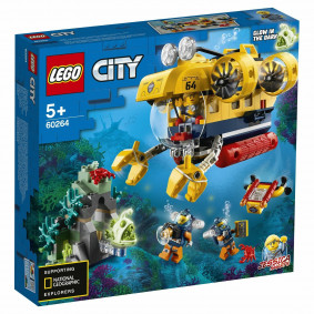 Կոնստրուկտոր 60264 սուզանավ LEGO CITY