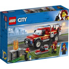 Կոնստրուկտոր 60231  Հրշեջ բեռնատար CITY LEGO