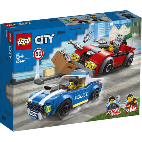 Կոնստրուկտոր 60242 Ձեռբակալում LEGO CITY