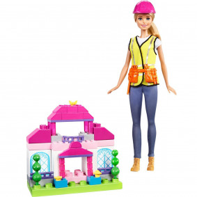 Տիկնիկ FCP76 Ի՞նչ դառնալ Շինարար Barbie