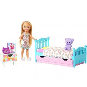 Խաղային հավաքածու FDB32/FXG83 ննջասենյակ Barbie
