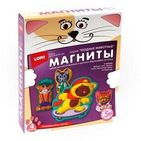 Գիպսից մագնիտներ Երջանիկ կատուներ Мфг-001 LORI