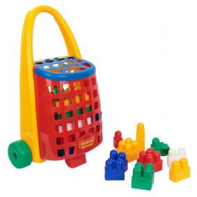 Սայլակ 43276 Կոնստրուկտոր Combi Blocks Polesie