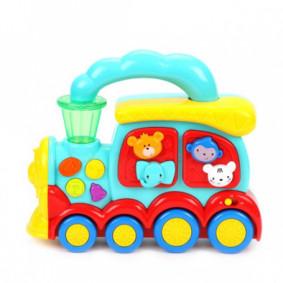 Երաժշտական խաղալիք 939576 Ուրախ գնացք