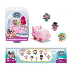 Խաղալիք 36266 վագոն և 3 կապիկ 4 TM Wonder Park