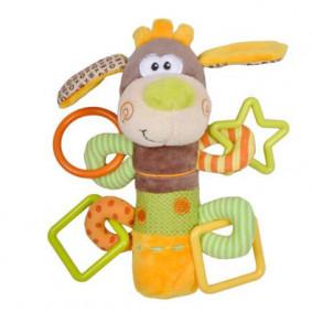 Խաղալիք 93558 չխկչխկաններով Շնիկ Թոմ Жирафики