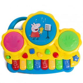 Երաժշտական դաշնամուր 30965 բարաբանով ТМ Peppa Pig