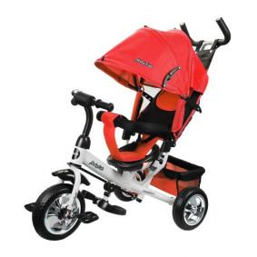 Հեծանիվ 641219 3ան. Comfort 10x8 EVA, կարմիր