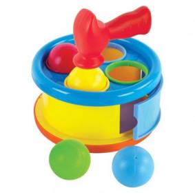 Ուսւցողական խաղալիք 633053 հարվածիր թմբուկին