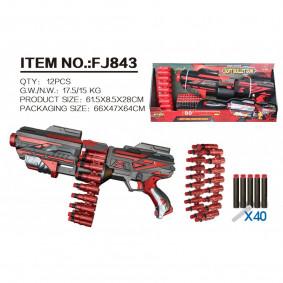 Զենք FJ843, 40 փամփուշտներով, 66*58*64 սմ