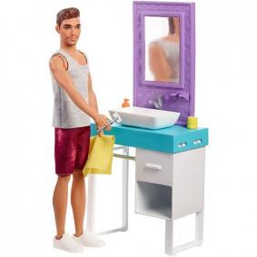 Հավաքածու FYK53 Տիկնիկ Կեն և կահույք barbie