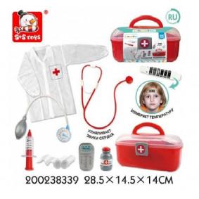 Հավաքածու Բժիշկ 200238339 ճամպրուկով S+S TOYS
