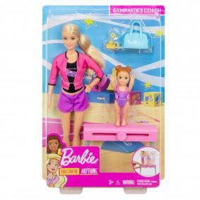 Տիկնիկ FXP39 մարզիչ գիմանաստիկայի Barbie