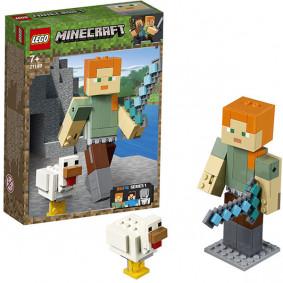 Կոնստրուկտոր 21149 Minecraft Ալեքս և ճուտիկ LEGO