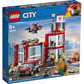 Կոնստրուկտոր 60215 CITY Հրշեջ կայան LEGO