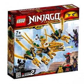 Կոնստրուկտոր 70666 NINJAGO Ոսկե Դրակոն LEGO