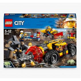Կոնստրուկտոր 60186 City լեռնային տեխնիկա LEGO