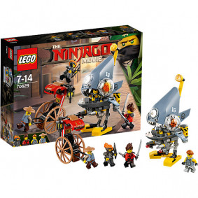 Կոնստրուկտոր 70629 Ninjago Հարձակում LEGO