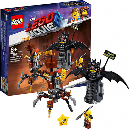 Կոնստրուկտոր 70836 Movie Բեթմեն և Բառադա LEGO