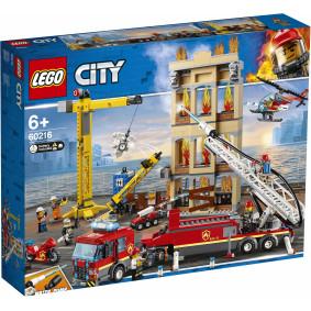 Կոնստրուկտոր 60216 CITY Հրշեջ կայան LEGO
