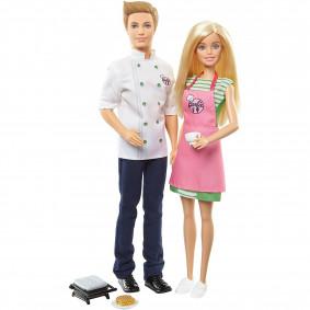 Հավաքածու FHP64 KEN 2 PK Barbie