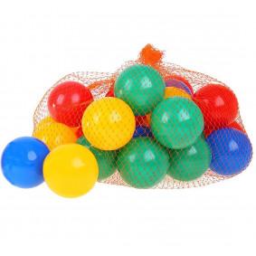 Պլաստիկե գնդակներ 10 հատ Գունավոր, И-1497