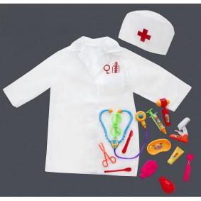 Բժշկական հավաքածու 36-01 խալաթով և գլխարկով