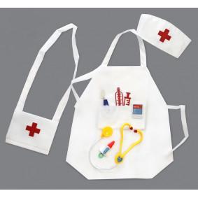 Հավաքածու 36-02 բուժքույր, գոգնոցով, պայուսակով