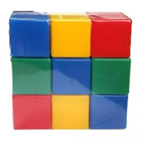 Набор НКБ009 кубики 9шт. в пленке Green Plast