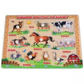 Փայտե խաղալիք «Բուրատինո» «Տնային կենդանիներ»