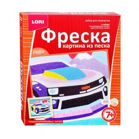 Ֆրեսկա Ավազից նկար Ժամանակակից մեքենա КпР-009 LORI