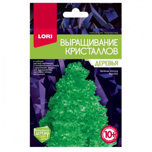 Բյուրեղիկների աճեցում Крд-002 կանաչ եղևնի