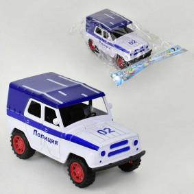 Մեքենա J0092P Ոստիկանություն, իներցիոն