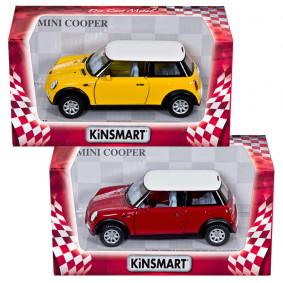 Մեքենա 1:28 Mini Cooper S KT5059W իներցիոն ТМ KINS