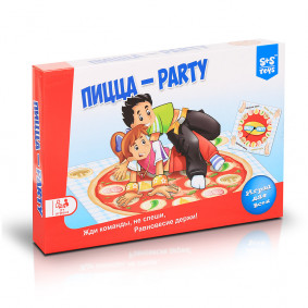 Խաղ 200153792 Թվիստեր Պիցցա-party S+S TOYS