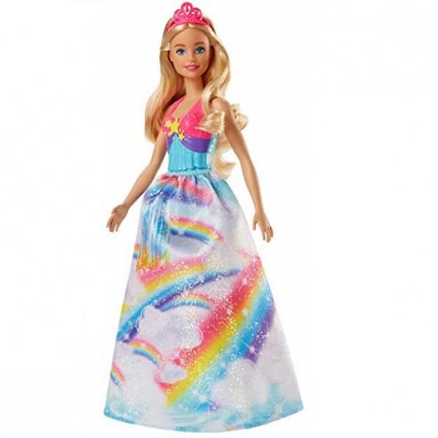 Տիկնիկ FJC94/FJC95 Rainbow Cove Princess Barbie