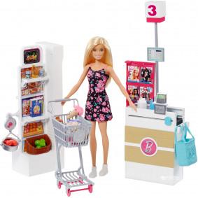 Հավաքածու Barbie FRP01 Սուպերմարկետում