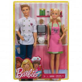 Հավաքածու FHP64 Ով լինել? Barbie և շեֆ խոհարար B