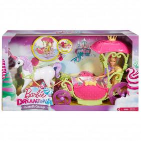 Կառք DYX31 Dreamtopia տիկնիկի հետ Barbie