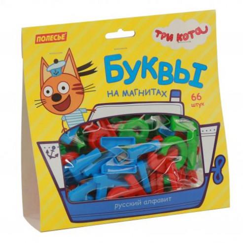 Հավաքածու Երեք կատուներ տառեր մագնիսների վրա (66