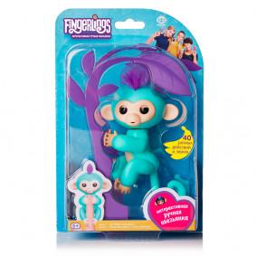 Կապիկ 3706A Ինտերակտիվ Զոյա կանաչ, 12սմ FINGERLING