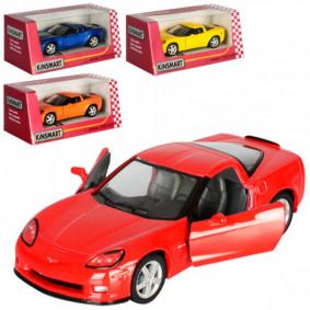 Մեքենա 1:36 Chevrolet Corvette Z06 KT5320W իներցիո