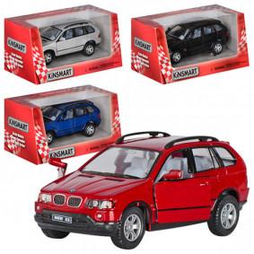 Մեքենա 1:36 BMW X5 KT5020W իներցիոն KINSMART
