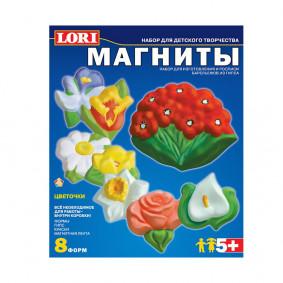 Կերպարներ М-008 մագնիսի վրա Ծաղիկներ LORI