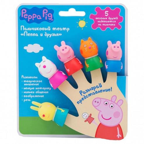 Խամաճիկների թատրոն 5 կերպար 29987 т.м. Peppa Pig