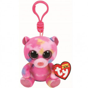 Փափուկ խաղալիք 36562 TY FRANKY - վարդագույն արջուկ