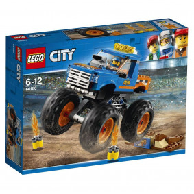 Կոնստրուկտոր 60180 City Մոնստր-տրակ LEGO