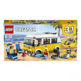 Կոնստրուկտոր 31079 Սերֆերների ֆորգոն LEGO