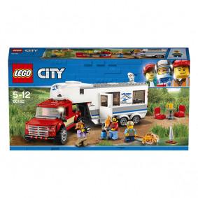 Կոնստրուկտոր 60182 City Տուն անիվների վրա LEGO